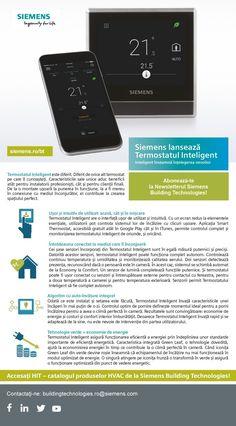 Siemens Building Technologies lanseaza Termostatul Inteligent