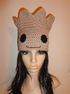 Guardians of the Galaxy Baby Groot HAT crochet by Irenescrochet on DeviantArt
