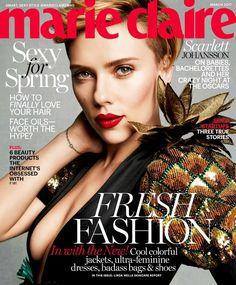 Scarlett Johansson - Marie Claire - March 2017