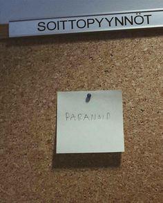 Soita Paranoid!