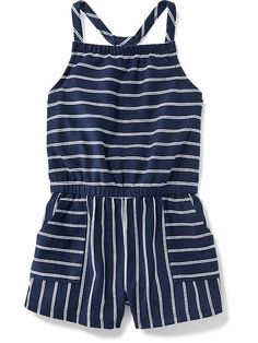 Striped Romper for Baby Product Image