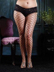 Queen Size Diamond Net Pantyhose from Leg Avenue - Shop Hot Legs USA, the best source for hosiery!