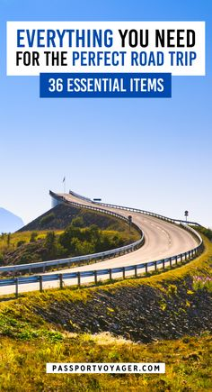 Don't forget to pack these road trip essentials! Here are 36 important things to remember on your next road trip adventure. From safety to snacks to awesome hacks, be sure to save this road trip packing list to help you make the most of your time in the car and help you enjoy your trip to the fullest! #roadtrip #packing #travel #packinglist #whattobring #safetytips