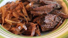 crock pot balsamic and sweet onion pot roast