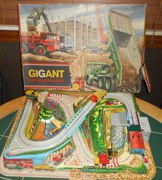 "Technofix 1960's GiGant Construction Site In Original Box ""WORKING"" No. 315 #Technofix"