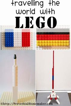 Travelling the World with Lego