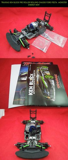 TRAXXAS KEN BLOCK PRE ROLLER ROLLING CHASSIS FORD FIESTA  MONSTER ENERGY NEW #drone #traxxas #ken #kit #parts #racing #products #gadgets #camera #tech #shopping #fpv #block #plans #technology