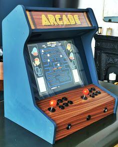 Arcade Bartop, Arcade Room, Arcade Machine, Old Games, Retro Art, Cabinet Design, Old Toys, Vintage Design, Pinball