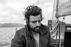 Schedvin jacket coat men fashion style tumblr hair beard streetstyle sailor