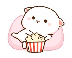 Cute Bunny Cartoon, Cute Kawaii Animals, Cute Cartoon Pictures, Cute Love Cartoons, Cute Love Pictures, Cute Love Memes, Cute Love Gif, Cute Cat Gif, Cute Bear Drawings