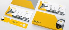 FastJet – Airline Brand Identity by SomeOne
