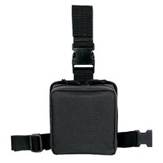 Adjustable quick release belt strap. Full zip first aid pouch for rapid field medical response with lots of inside sewn loops to hold your medical gear. Adjustable thigh straps with non-slip backing for a secure fit. Metal drain grommet.Dimensions: 7″L X 3″W X 7″H