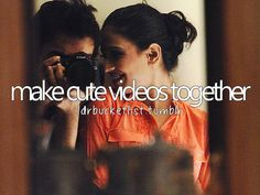 We should definitely do this so I have something to watch when you leave :) A.J.K. <3