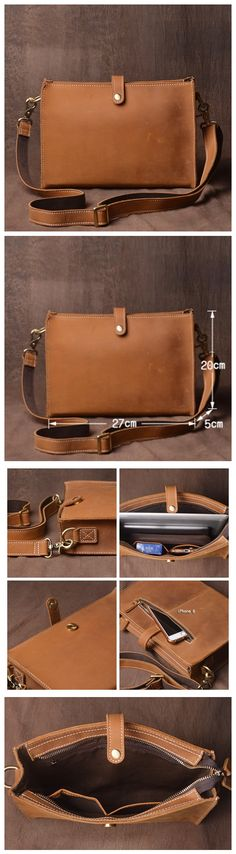 Anyone Can Use A Desktop Computer With The Right Advice Brown Leather Messenger Bag, Small Leather Bag, Black Leather Bags, Leather Briefcase, Leather Crossbody Bag, Crossbody Bags, Laptop Messenger Bags, Laptop Bag, Leather Phone Case