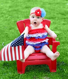 Petti Rompers at Wholesale - Baby Petti Romper and Toddler Lace Rompers from The Hair Bow Company 4th Of July Photography, Photography Mini Sessions, Newborn Photography, Photography Ideas, Holiday Photography, 4th Of July Pics, Fourth Of July, Children's Boutique, Girls Boutique