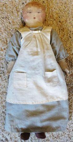 The Talbott Doll Co Charmaine 1986 Signed Primitive Antique Folk Cloth Country | eBay