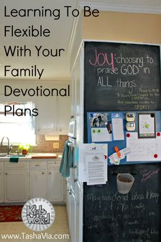 Learn to be flexible with your family devotional plans. Christian family devotions to help your family grow together in faith. Kidsintheword.net