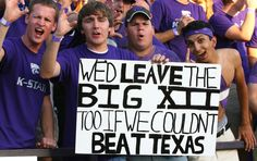 ... like this one from K-State fans.  MU, NU, CU... C U later!