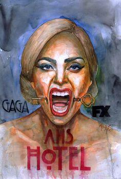 Lady Gaga as Elizabeth, The Countess. American Horror Story: Hotel. #AHSHotel