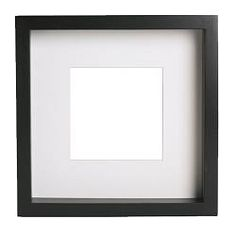 You can place the motif on the front or back of the extra deep frame. The mat enhances the picture and makes framing easy. The mat is acid-free and will not discolor the picture. Adapted in size to hang several together.
