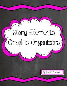 Use these 12 printable graphic organizers to help your students understand the stories they are reading. With greater understanding of the story elements, students' reading comprehension greatly increases! Includes: Story Chart, Story Chart Pictures, Story Elements Radial, Cause & Effect, Character Analysis, Vocabulary Word Work, Story Summary, KWL Chart, Venn Diagram, Fortune Teller, Story Elements Puzzle, and Timeline Partner Activity.
