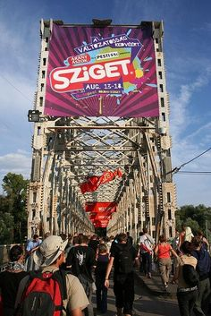 Where we want to go this summer... the amazing Sziget festival in Europe