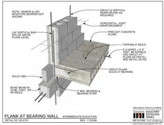 02.120.0751: Plank at Bearing Wall - Intermediate Elevation