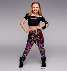 """""""Pump Up the Jam"""" Girls Costume Set - Style Number: TH5029C"""