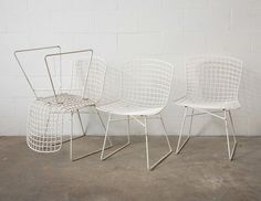 Eames Knoll style set of 4 Chairs