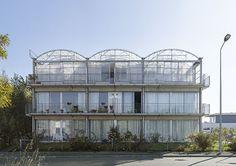 23 Housing units, Trignac. Lacaton Vassal architects