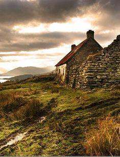 Derilct settlement Tomour, Scotland