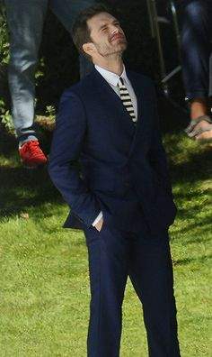 Sebastian Stan spotted during a photo shoot for Hugo Boss in Barcelona, Spain. Sebastian Stan, Bucky Barnes, Avengers, Bae, Man Thing Marvel, Dc Movies, Marvel Actors, Raining Men, Chris Evans
