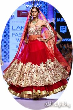 Suneet Varma Spring Couture 2015 Lakme Fashion Week