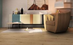 Hardwood style floor, virtual image, rendered with DomuS3D® 2017 and V-Ray