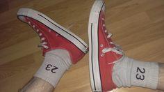 Converse All Stars Schuhe Sneaker in Rot / Red . Gr 46 . Skater Sk8er gay