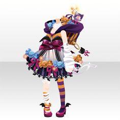 クリィピーキャンディナイト!|@games -アットゲームズ- Chibi, Anime Uniform, Halloween, Monster Face, Spring Girl, Anime Dress, Cocoppa Play, Star Girl, The Draw