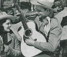 Roy Rogers and Carol Hughes in Under Western Stars (1938) Roy Rogers, Classic Actresses, Happy Trails, Westerns, Cow Girl, Stars, Cowboys, Gems, Fashion