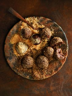 These sweet date and nut bliss balls can be blended up super fast for when you need something sweet.