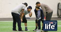 Mark Wahlberg and his brothers hit the field at the Empower Field House practice…