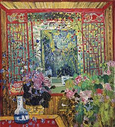 Intricate oriental detail and color . . . Fang Xiang . China