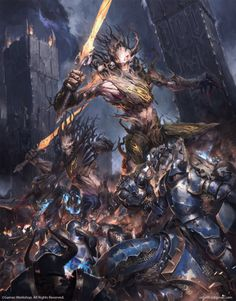 """Warhammer: Spirits of Durthu Bestiary - by Igor Sid """"For... #LoveArt - #Art #LoveArt http://wp.me/p6qjkV-f5s"""