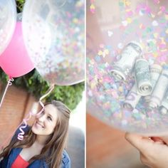 Money Balloons {Gifts for Teens}