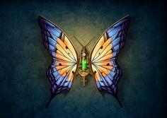 #Steampunk Tendencies | Steampunk Butterfly
