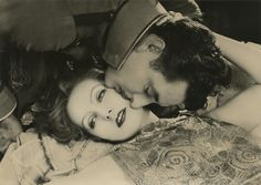 "Greta Garbo and John Gilbert for MGM's ""Flesh and the Devil"" in 1926. (Bertram ""Buddy"" Longworth)"