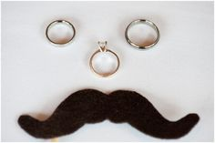 so cute if you're into mustaches! Nicole & Jeff - Antrim 1844 Country House Hotel