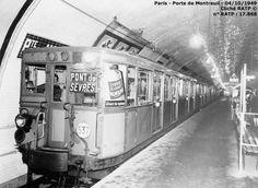 Modern day line 9 Métro de Paris 1949.      http://amutc.centerblog.net/