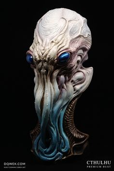 Cthulhu: Premium Bust Statue by Dominic Qwek — Kickstarter