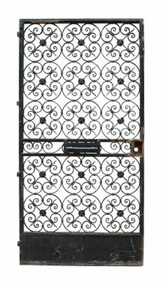 ANTIQUE WROUGHT IRON PEDESTRIAN GATE - UK Architectural Heritage