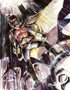 Batman & Robin by Yildiray Cinar