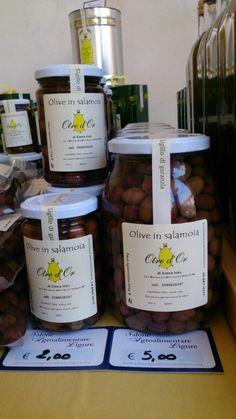 Le olive in salamoia